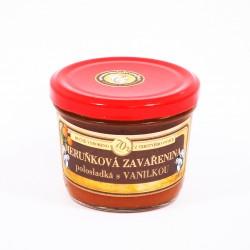 Meruňková zavařenina s vanilkou polosladká 200g