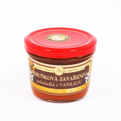 Meruňková marmeláda s vanilkou polosladká 200 g