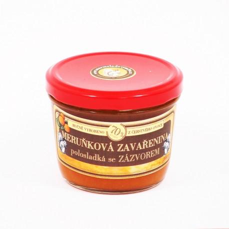 Meruňková marmeláda se zázvorem polosladká 200 g