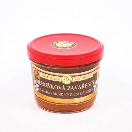 Meruňková marmeláda s muškátovým ořechem polosladká 200 g