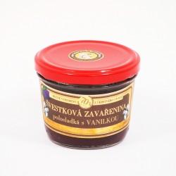 Švestková zavařenina s vanilkou polosladká 200g