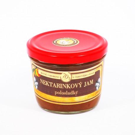 Nektarinkový džem polosladký 200 g