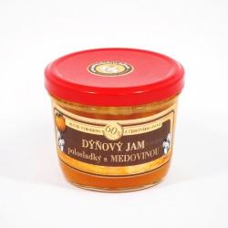 Dýňový jam s medovinou polosladký 200g