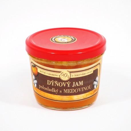 Dýňový jam s medovinou polosladký 200 g