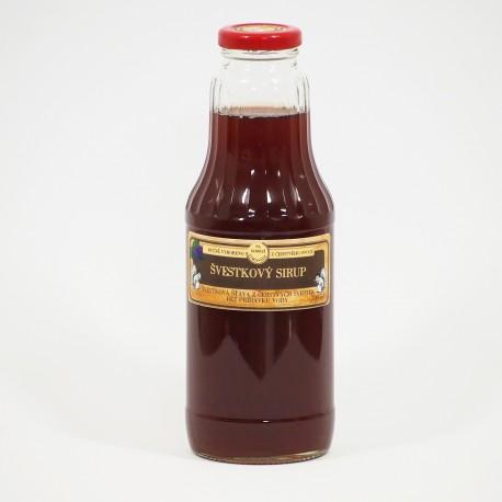 Švestkový sirup 700 ml