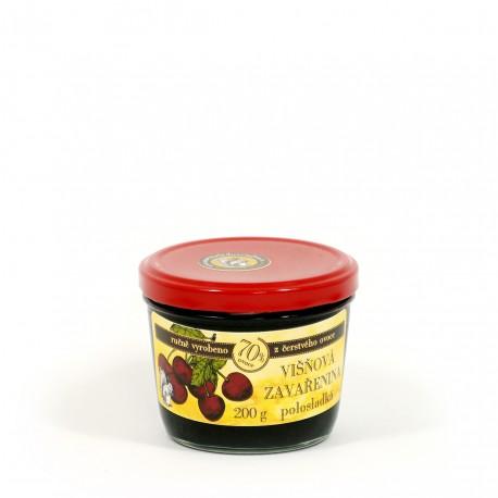 Višňová marmeláda polosladká 200 g