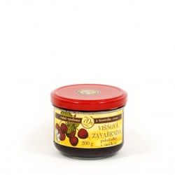 Višňová zavařenina s vanilkou polosladká 200g