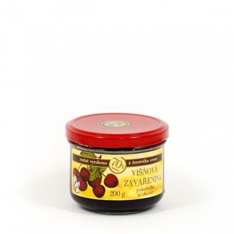 Višňová marmeláda se skořicí polosladká 200 g