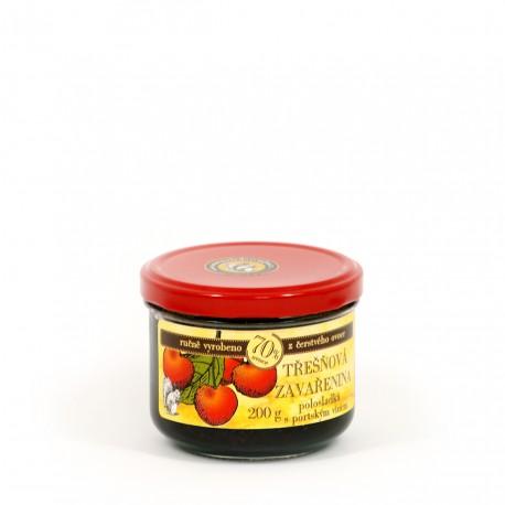 Třešňová marmeláda s portským polosladká 200 g