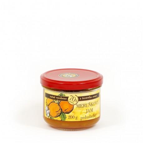 Meruňkový džem polosladký 200 g