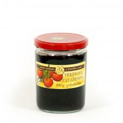 Třešňová marmeláda polosladká 400 g
