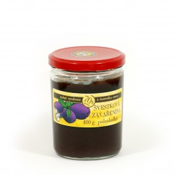Švestková marmeláda polosladká 400 g