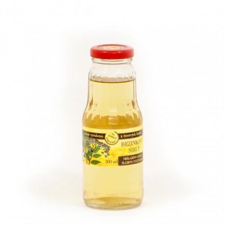 Bezinkový sirup (květ) 300 ml - neslazeno cukry
