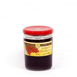 Rybízová marmeláda (červený rybíz) polosladká 400 g