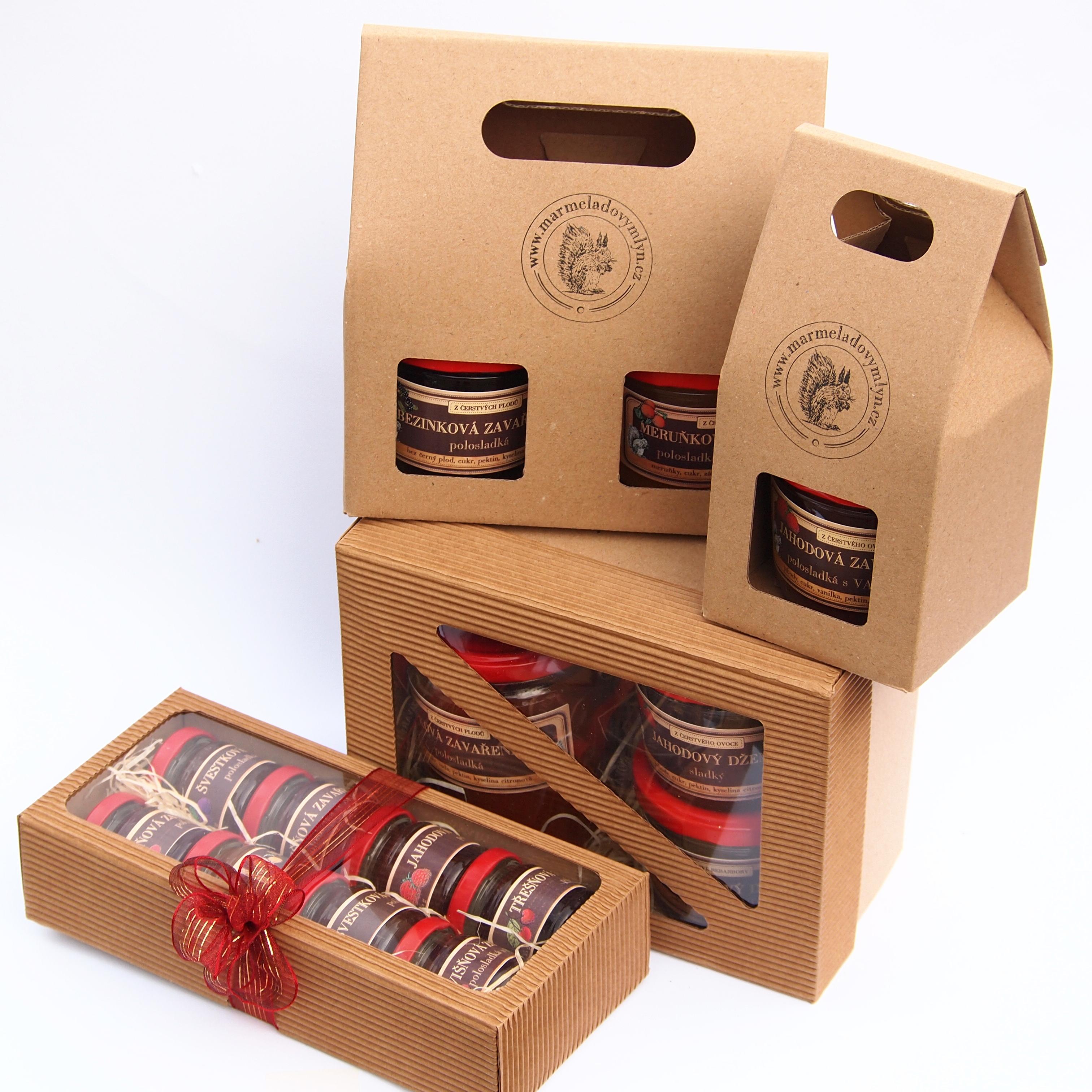 Marmelády dárkové balení Marmeládový mlýn