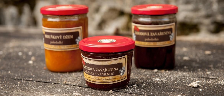 Domácí marmelády a džemy - Marmeládový mlýn