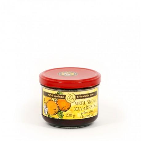Meruňková marmeláda s borůvkami polosladká 200 g