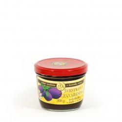 Švestková zavařenina s chilli a skořicí polosladká 200g