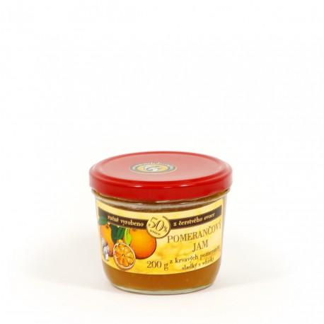Pomerančový džem s whisky sladký 200g