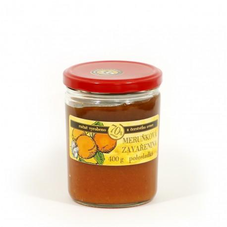 Meruňková marmeláda polosladká 400 g