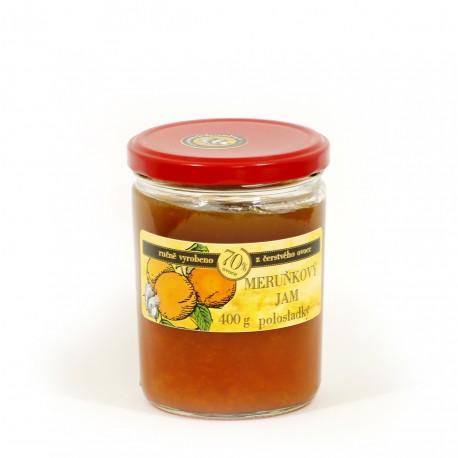 Meruňkový džem polosladký 400 g