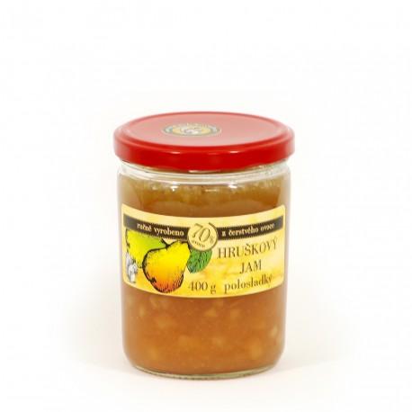 Hruškový džem polosladký 400 g