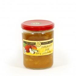 Jablkový jam polosladký 400g
