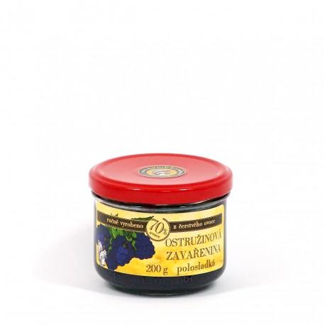 Ostružinová marmeláda polosladká 200 g