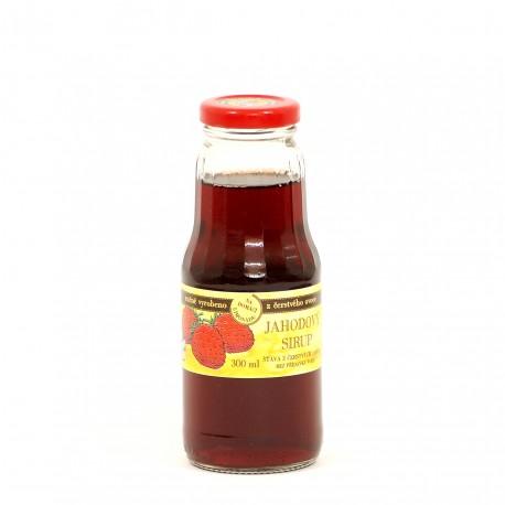 Jahodový sirup 300 ml
