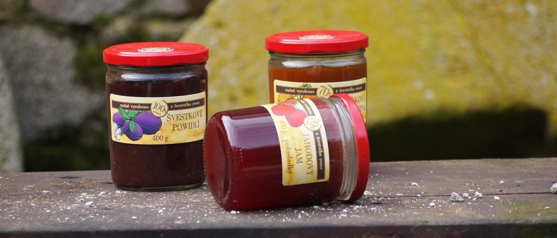 Domácí marmelády, sirupy a povidla - Marmeládový mlýn